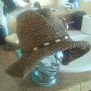 REI. Brown Sea Grass Sun Hat